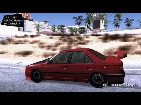 Peugeot 405 Grand Theft Auto San Andreas GTA SA MOD