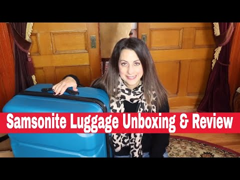 samsonite-luggage-unboxing-&-review-2019