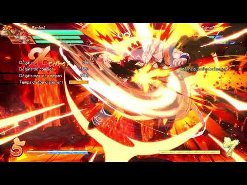 Dragon Ball FighterZ - Bardock Solo Level 3 (No Assists/No DHC) 82% Damages [8215]
