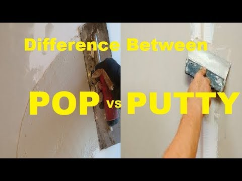 Difference Between POP & Putty