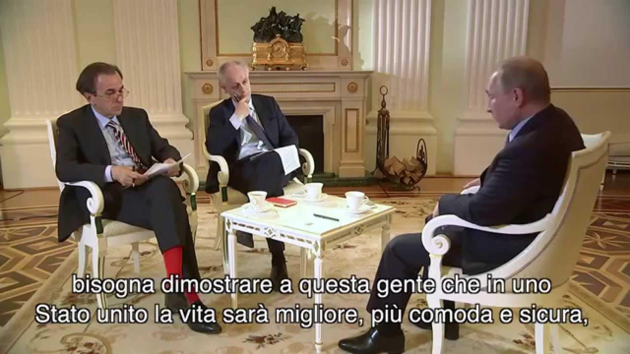 PTV Speciale - Le risposte di Putin al Corriere della sera