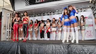 スーパー耐久2016第4戦 富士 9月3日(土) 予選日 レースクィーンオンステ...