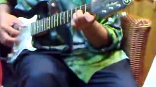 Kain Songket petikan gitar solo