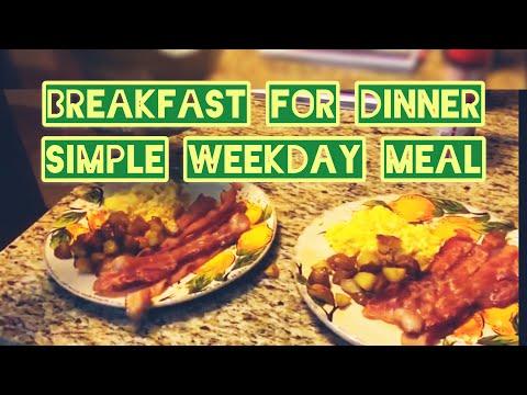 what's-for-dinner?-|-breakfast-for-dinner-|-bacon,-eggs,-&-potatoes