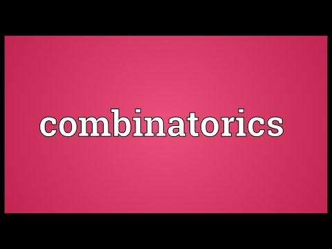 Combinatorics Meaning