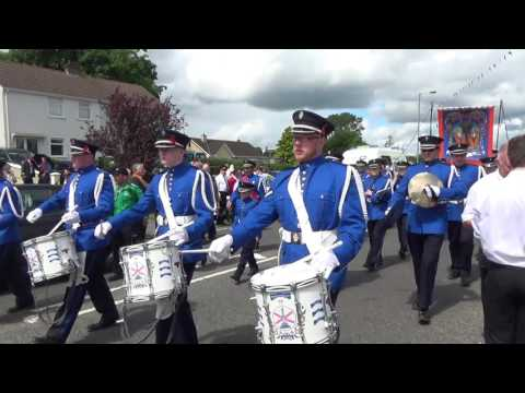 Lodges from Brookeborough at the 2016 Twelfth