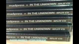 Madpress + In The Unknown split CD Unboxing