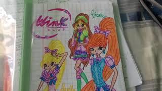 My Drawing Winx club 🎨🎨