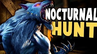 Nocturnal Hunt - NEW HUNT & PLAY AS WOLF GAME! FINDING MY PUP! - Nocturnal Hunt Gameplay