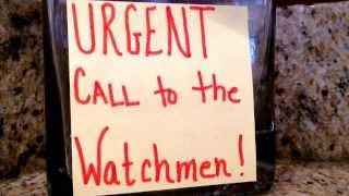 URGENT Call to the WATCHMEN!! (Rhema Word)