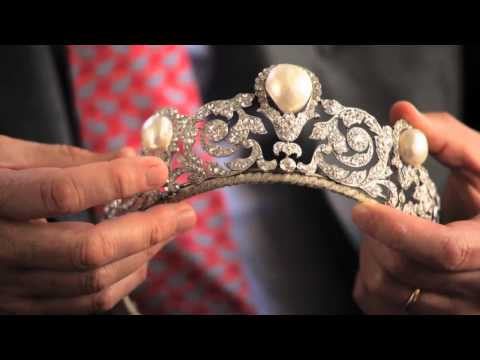The Murat Tiara -- A Rare and Impressive Pearl and Diamond Jewel