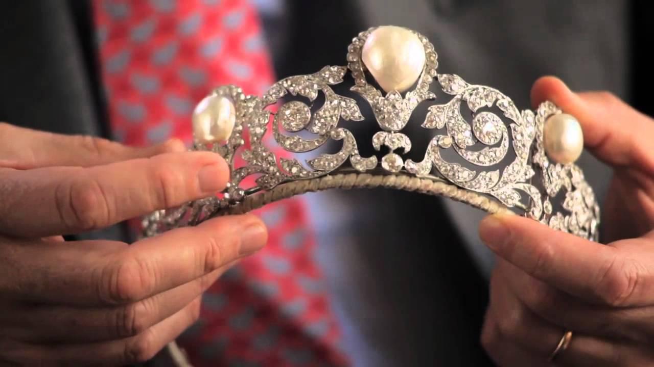 The Murat Tiara — A Rare and Impressive Pearl and Diamond Jewel