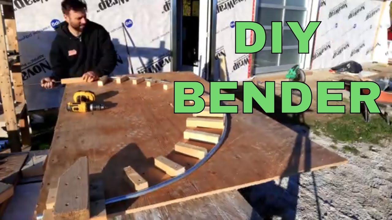 DIY Mini Greenhouse - Including Homemade Hoop Bender