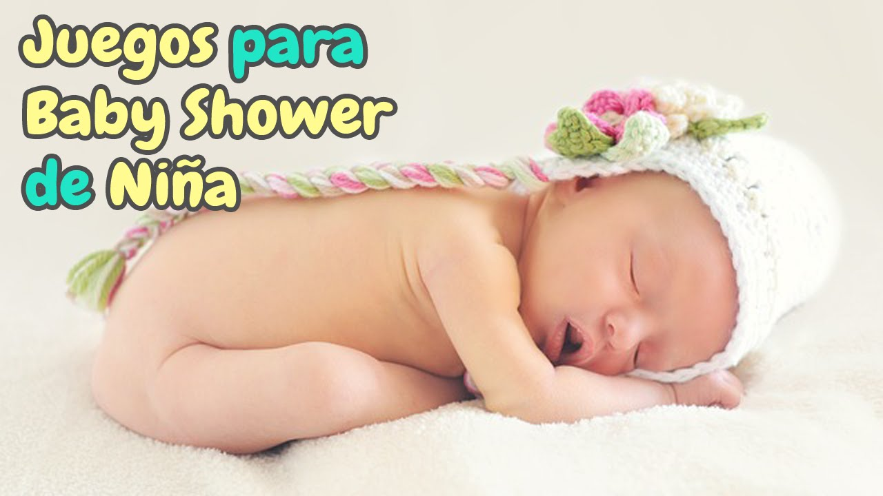 5 Juegos Para Baby Shower De Nina Hd Youtube