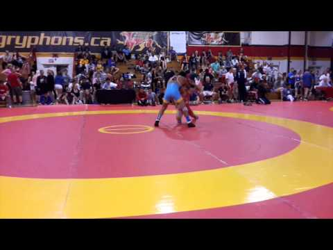 2014 Canada Cup: 57 kg Sam Jagas (CAN) vs. Tony Ramos (USA)