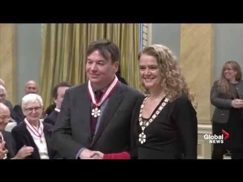 8fe5df52 Mike Myers named an Officer of the Order of Canada - YouTube