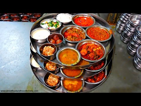 Gujarati Thali | Craziest Indian Food Serving | By Street Food & Travel TV India