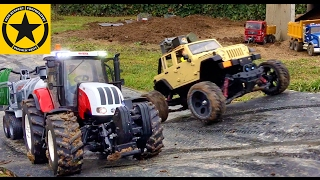 BRUDER Tractors for KIDs STEYR 6230 RC conversion MUD RECOVERY