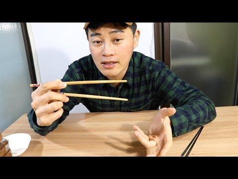 Cómo usar los palillos l para zurdos y diestros