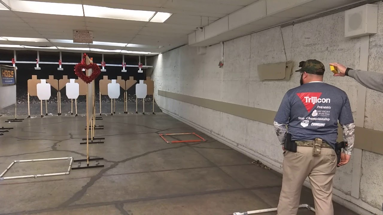 Detroit Sportsman's Congress USPSA - February 2019 - Open Minor - Stage 4 TPV