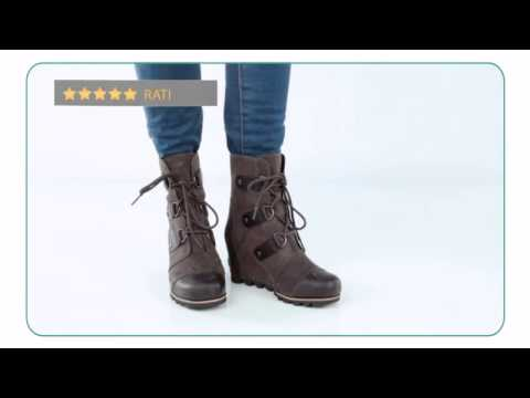 fae3166463 Sorel Joan Of Arctic Wedge Mid - Planetshoes.com - YouTube