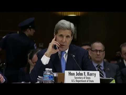 Secretary Kerry Delivers Testifies Before the Senate Committee on Foreign Relations