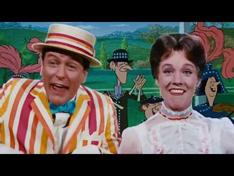 Supercalifragilisticexpialidocious   Julie Andrews & Dick Van Dyke in Mary Poppins 1964