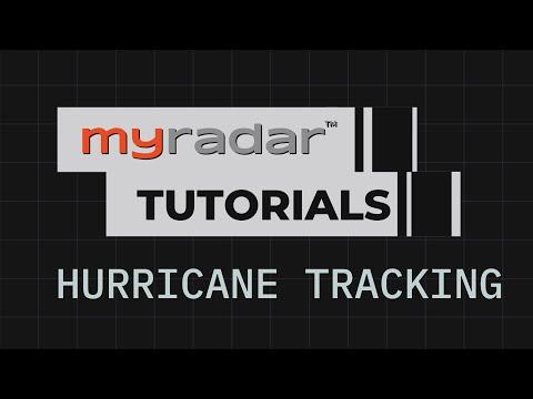 MyRadar Tutorial - Hurricane Tracking