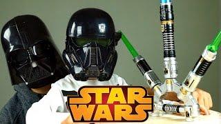 Игрушки HASBRO ! Настоящий Darth Vader ! Звёздные Войны Изгой Один ! Меч и Маска