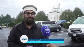 News Report - Huzoor Tour of America