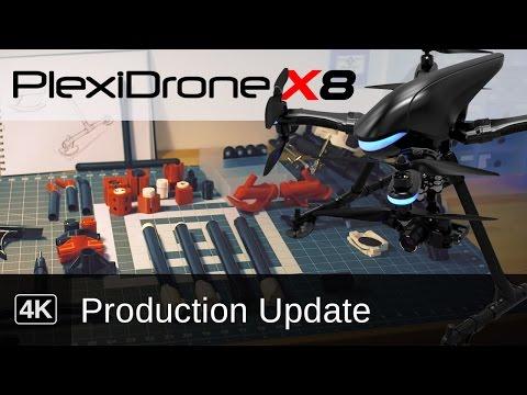 PLEXIDRONE | Price of Plexi Drone Production for DeamQii Manufacturing Plexidrone Cost Update