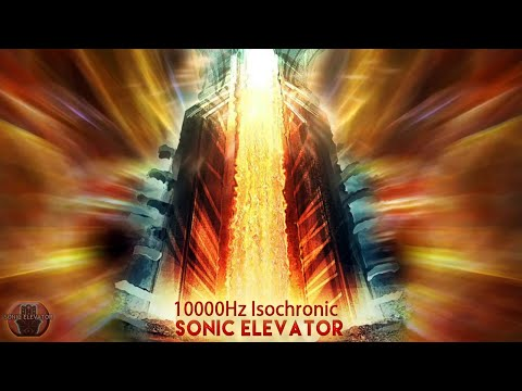 Sonic Elevator Third Eye Meditation (THE TOWER OF POWER) Spiritual Experience Music Binaural Beats