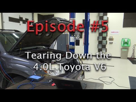 -Episode 5- Replacing a stretched timing chain on a Toyota 4.0L V6 - P0016