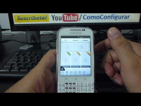 Como Cambiar El Tema Del Samsung Galaxy Chat B5330 Español Full HD