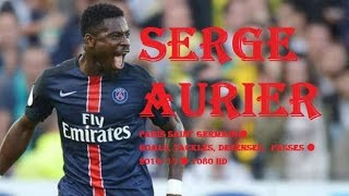 SERGE AURIER  Paris Saint Germain  Goals Tackles Defenses  Passes  201617  1080 HD