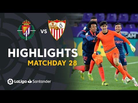 Valladolid Sevilla Goals And Highlights