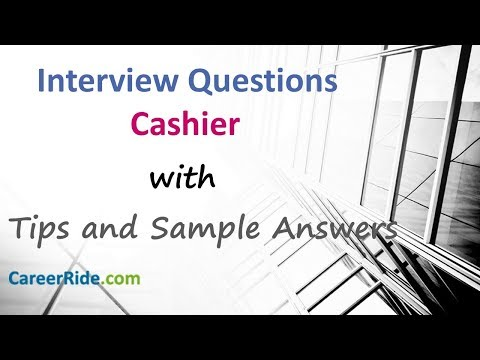 Cashier Interview Questions And Answers - For Freshers And Experienced Candidates