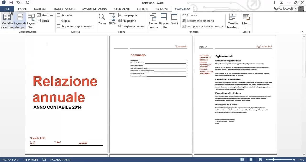 Microsoft Word 2013 Tutorial ITA Corso In HD Lezione 6