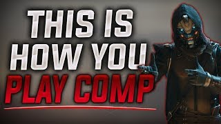 This is How you Play Comp.. ( Destiny 2 Comp Highlights )
