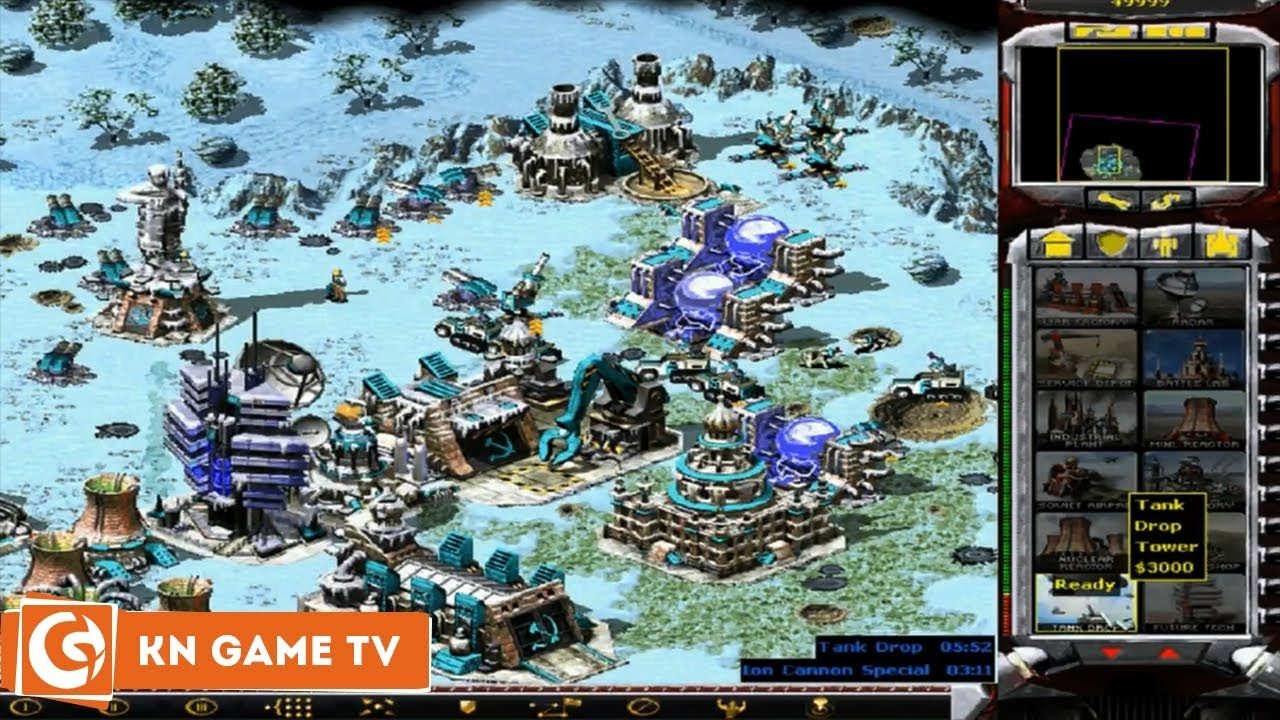 Hướng dẫn cài đặt và cơ bản cách chơi Game Red Alert 2 (Ra 2) Mod Việt Nam vs China