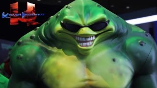 Rash from Battletoads Joins Killer Instinct - Season 3 Guest Character ~ Gameplay Teaser Trailer