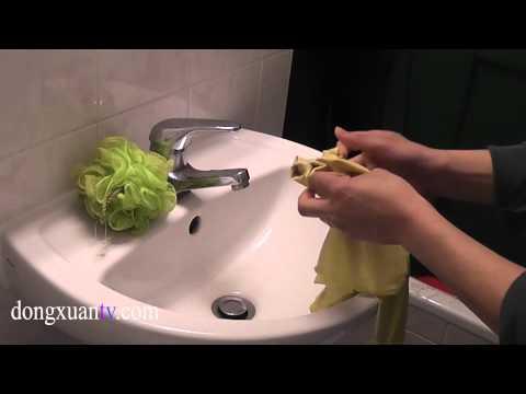 lộn Găng tay rửa bát cực nhanh 1`second