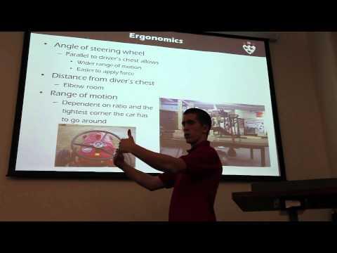 McGill Racing Team Seminar Miniseries: Steering Systems
