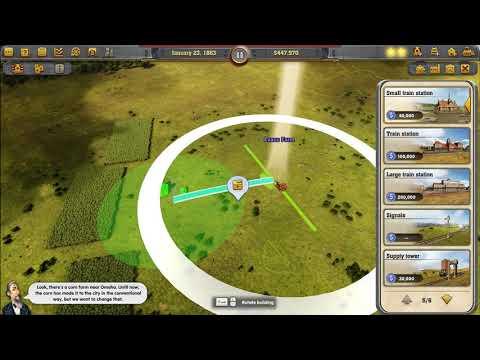 Railway Empire - Gameplay |