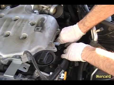 hqdefault diy 1st gen g35 spark plug replacement (part 2 of 3) youtube  at webbmarketing.co