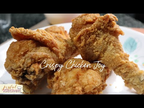 How To Cook Crispy And Juicy Fried Chicken Ala Jollibee Chicken Joy | DIY Jollibee ChickenJoy