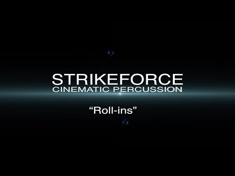 Strikeforce - How to create Percussion Rolls with Strikeforce
