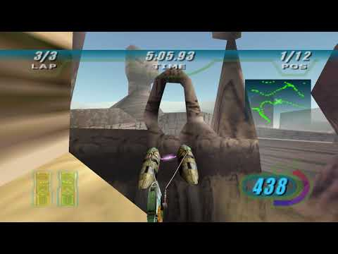Star Wars  Episode 1 Racer The Boonta Classic - i7 4770 1060 3GB |