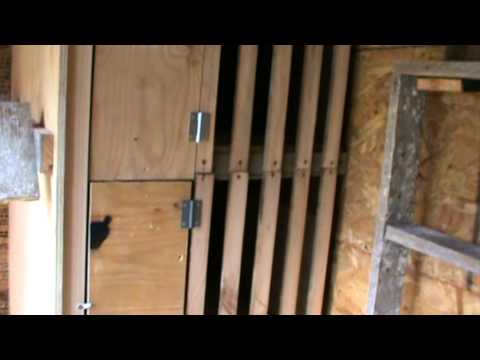 LEANING LOFT CREATION -A NEW PIGEON STOCKHOUSE