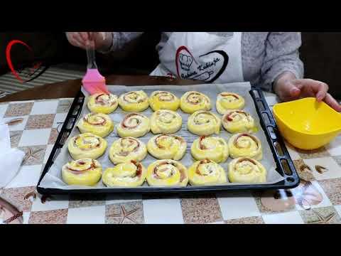 Bakina kuhinja - sjajna slana peciva sa sirom